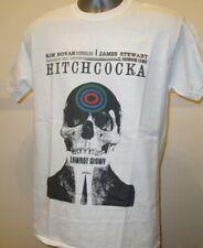 Vertigo Classic 50s Hitchcock Film Polish Poster T Shirt Skull Psycho Birds 237
