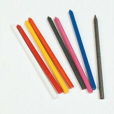 Worther 3,15 Mm Plomo Recargas Para Mecánicos Embrague Lápices 7 Colores-Packs De 4
