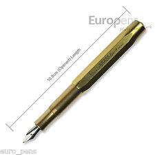 Kaweco BRASS Sport Pocket Fountain Pen - Choose Nib Options
