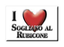 CALAMITA EMILIA ROMAGNA MAGNETE SOUVENIR I LOVE SOGLIANO AL RUBICONE (FO)