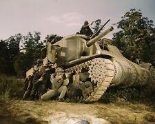 M3 Lee medium tank crew small arms training Fort Knox KY WWII 1942 Photo Print