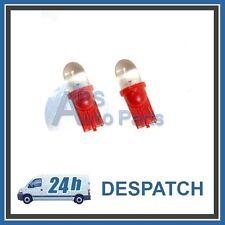 T10 W5W 194 168 2825 501 4051 158 L1055 Bombilla LED Rojo Brillante Interior del Coche