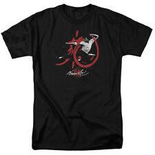 Bruce Lee High Flying Licensed Adult T Shirt