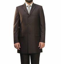 Homme Costume Muga Redingote Marron*170*