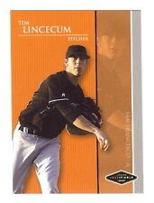 TIM LINCECUM #1 DP S.F. Giants 2006 *SILVER* RC xx/200