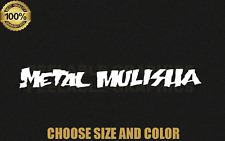 "METAL MULISHA Decal Sticker Graphic Sign Motocross Dirtbike Moto 7"",9"", 11"",13"""