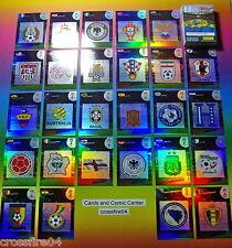 Panini WM 2014 Fifa World Cup Brasil Team Logos/ Wappen/ Badges aussuchen/choose