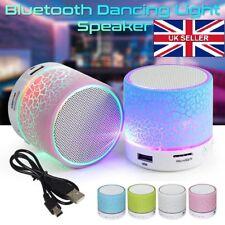Bluetooth Wireless Mini Portable Speaker Bass for MP3 iPhone iPad Night Light UK