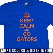 Keep Calm and Go Gators T-Shirt - Florida U of A University - All Sizes & Colors
