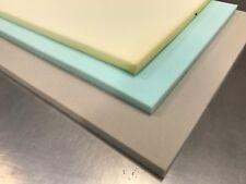 """Hoja de espuma de tapicería medio bajo alta densidad de 60"""" X 20"""" Espesor de cualquier tamaño de espuma"""