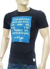 G STAR RAW homme Tee shirt  col rond slim fit noir BISCAYNE BLACK 84001A1141990