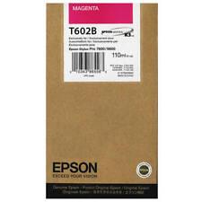 Genuino Epson T602B MAGENTA CARTUCHO DE TINTA (c13t602b00)