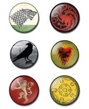 GAME OF THRONES 25mm button badge / magnet Stark, Targaryen, Night's Watch ssn 5