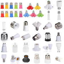 GU10 E27 E14 B22 Adapter Bulb Converter LED Round Bulb Extender Holder Base Lamp