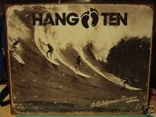 Tin Sign- Hang Ten- A California Classic