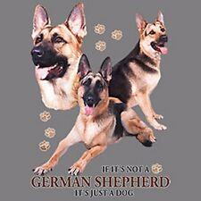 If Not German Shepherd Just a Dog T-Shirt Pick Size Youth Medium - 6 X Large