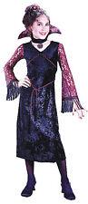 Gothic Lace Vampiress Child Girls Costume Choker Fancy Dress Funworld