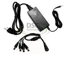 4 CH Camera 12V DC 5 Amps CCTV Power Supply UL Listed