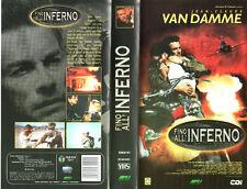 Fino all'Inferno (1998) VHS