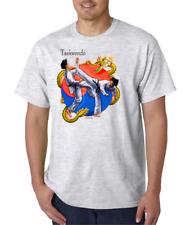 USA Made Bayside T-shirt Sports Taekwondo Korean Martial Art