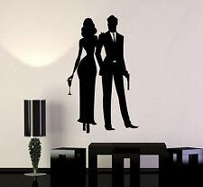 Vinyl Wall Decal Secret Agent Service James Bond Woman Stickers (ig4828)