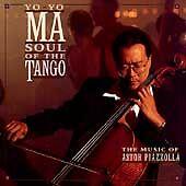Soul of the Tango: The Music of Astor Piazzolla by Yo-Yo Ma (CD, 1997 Sony)
