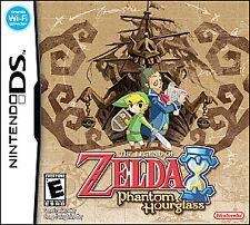 Legend of Zelda: Phantom Hourglass (Nintendo DS, 2007) Free USPS shipping