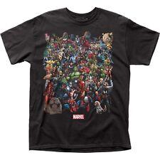 Marvel Comics Universe Captain America Hulk Spider-Man Superman T Shirt MRVL10
