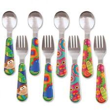 FOUR DESIGNS Toddler Baby Cutlery Knife Fork Stephen Joseph Boys Girls