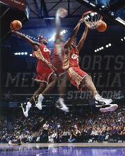 Lebron James Cleveland Cavaliers 3 exposure dunk 8x10 11x14 16x20 photo 456