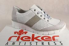 Rieker 53717 Femmes Chaussures à lacets, Chaussures basses, baskets neuf