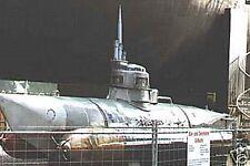 Biber Two Man Mini-Submarine Mahogany Kiln Wood Model Large New