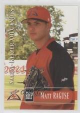 2005 Grandstand Salem-Keizer Volcanoes #16 Matt Raguse Rookie Baseball Card