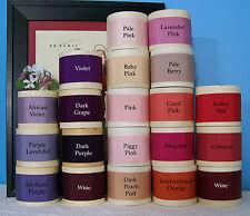 "10yd Roll  Pick Color Vintage 2"" Silk Cotton Grosgrain Ribbon Petersham Hat A"