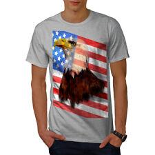 Freedom Flag Eagle USA Men T-shirt NEW   Wellcoda