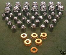 Jaguar daimler 6 cylinder head & cam nut set fits xk moteurs C2328 C2327 FW104E