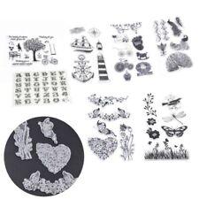 Craft Alphabet Transparent Stamp Scrapbooking Decorating Rubber Silicone