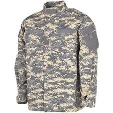 MFH Mens ACU Ripstop Uniform Shirt US Army Combat  Field Jacket ACU Digital Camo