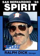 1988 San Bernardino Spirit Best #14 Ralph Dick Albuquerque New Mexico NM Card