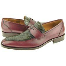 "Lorens ""Abel"" Apron Toe Loafer, Men's Slip-on Dress Dress Leather Shoes"