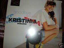 "Kristinia DeBarge Goodbye 12"" VINYL 6 mixes DJ PauloNEW"