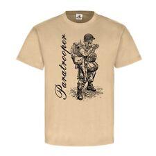 US Paratrooper Army WW2 USA Fallschirmjäger parachutists T-Shirt#23140