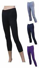 CHEX lycra cotone 3/4 Leggings da donna Fitness eserczio Yoga Workout DANZA