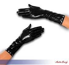 Anita Berg - Halblange Latex Handschuhe mit Nieten in diversen Farben