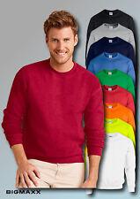 Gildan Heavy Blend Adult Crewneck Sweatshirt Langarm Pullover Gr S bis 5XL