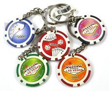 Las Vegas Casino Poker Chip USA Good Luck Schlüsselanhänger Glücksbringer
