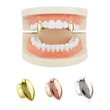 2pc Colmillos Colmillos Dental Solo Uno Vampire Tooth Grill Canino Teeth Caps