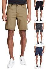 JACK & JONES Men Stretch Chino Shorts Cotton Summer Half Pants Smart Plain Short
