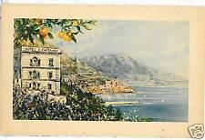 CARTOLINA d'Epoca: AMALFI Salerno - ILLUSTRATA