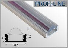 12,40 €/m LED Linsen Profil Alu Typ O Lichtbündelung Aufbau Schiene Leiste 2m